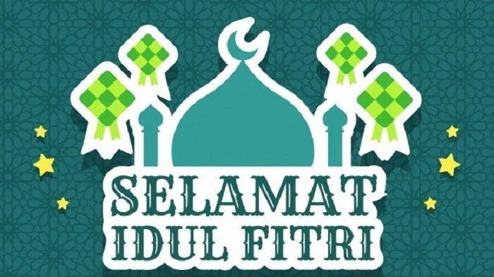 25 Poster Gambar UcapanSelamat Hari Raya Idul Fitri, Share keWhatsApp, Instagram, hingga Facebook