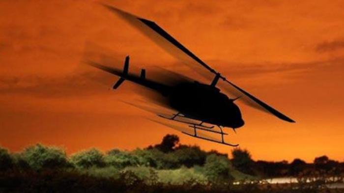 BREAKING NEWS :Helikopter Kepala BNPB Gagal Terbang, Sempat Menyerempet Kendaraan