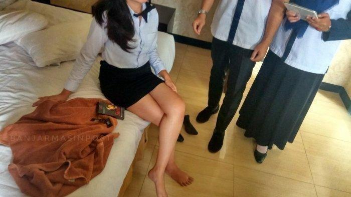 Seorang Wanita Cantik Nyaris Tewas Dibacok Teman Kencannya di Hotel, Pelaku Kabur Tanpa Busana