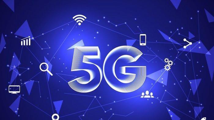 ilustrasi jaringan 5G. Muncul teori konspirasi yang mengaitkan penyebaran covid-19 berkaitan dengan jaringan 5G sehingga sejumlah tower 5G di Inggris dirusak.