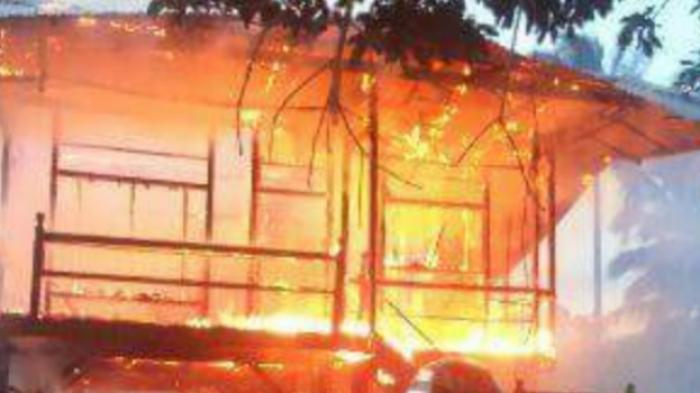 Kebakaran Tadi Malam Jam 10, Api Cepat Membesar dan Menjalar, Ada Banyak Korban