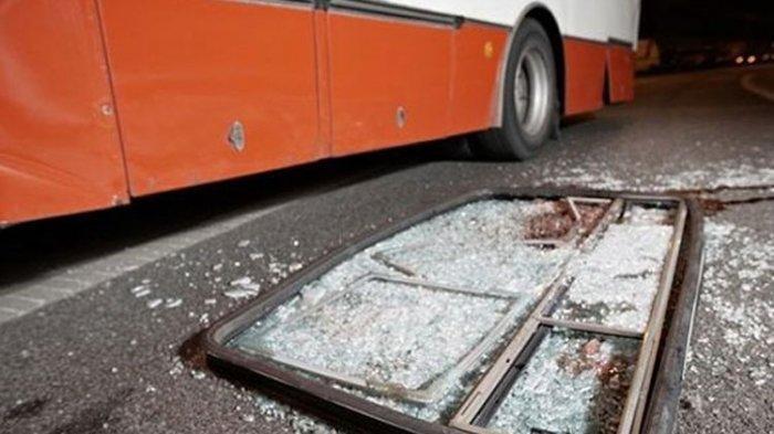 Kecelakaan Maut Pukul 11.30 WIB, Sopir dan Kondekturnya Tewas saat Ganti Ban, Korban Ditabrak Bus
