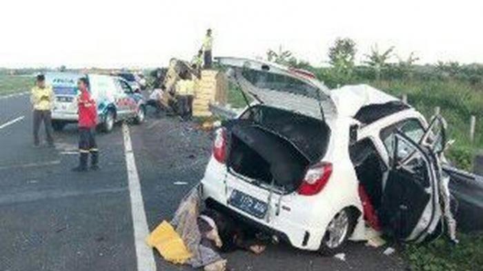 Ilustrasi - kecelakaan di Tol Cipali.