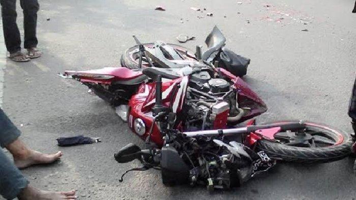 Kecelakaan Maut Tadi Pkl 11.30 WIB, Mahasiswa Kendarai CBR 250 Tewas, Diduga Emak-emak Potong Jalur