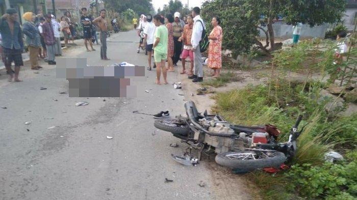 Kecelakaan Maut Pukul 19.15 Wita, 2 Remaja Tewas, Dua Motor Yamaha Tabrakan dengan Kecepatan Tinggi