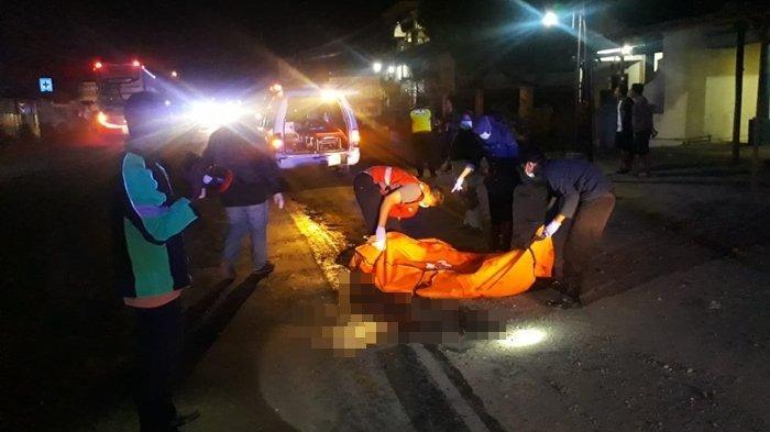 Kecelakaan Maut Pukul 17.30 WIB, Seorang Mahasiswa Tewas Seketika, Motor Ditabrak Truk dari Belakang