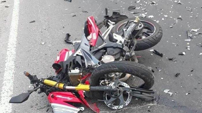 Kecelakaan Maut Pukul 11.20 Wita, Seorang Gadis Tewas Seketika, Korban Terlempar lalu Tertabrak Truk