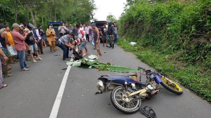 Kecelakaan Maut Pukul 07.30 WIB, Seorang Pemotor Tewas Terlindas Truk, Jatuh Usai Senggol Motor Lain