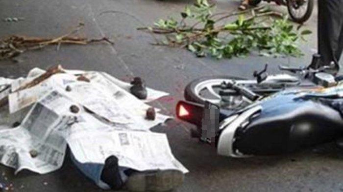 Kecelakaan Maut, Tabrakan Motor Mio vs Beat, Kakek Yunus Tewas di Tempat, Kapolres: Tolong Hati-hati