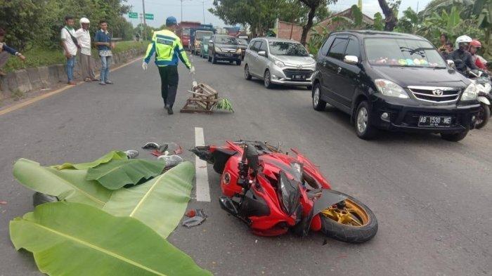 Ilustrasi <a href='https://manado.tribunnews.com/tag/kecelakaan' title='kecelakaan'>kecelakaan</a> pengendara motor bertabrakan.