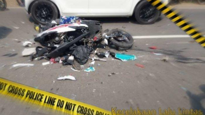Kecelakaan Maut Tadi Sore, Pemotor Tewas Tertabrak Truk, Saksi: Mereka Ketawa Sambil Ugal-ugalan