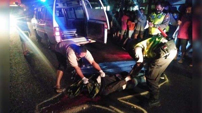 Kecelakaan Maut Tadi Malam, Ibu dan Anak Tewas Tergeletak di Jalan Jadi Korban Tabrak Lari Bus