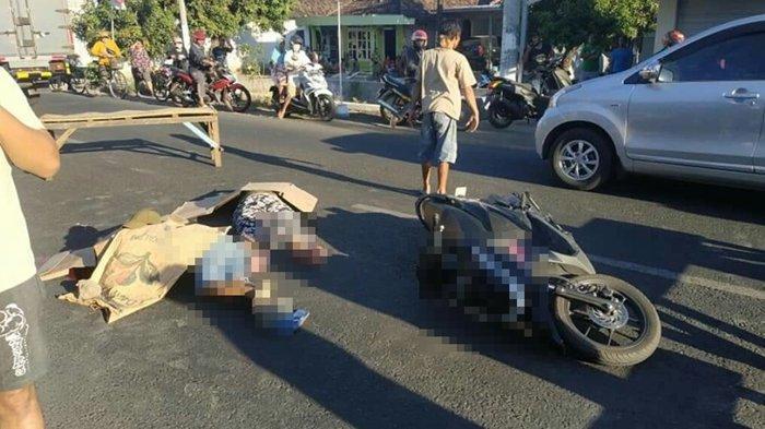 Kecelakaan Maut Tadi Dini Hari, Dua Pemuda Tewas Seketika, Bawa Motor Ngebut hingga Menabrak Pohon