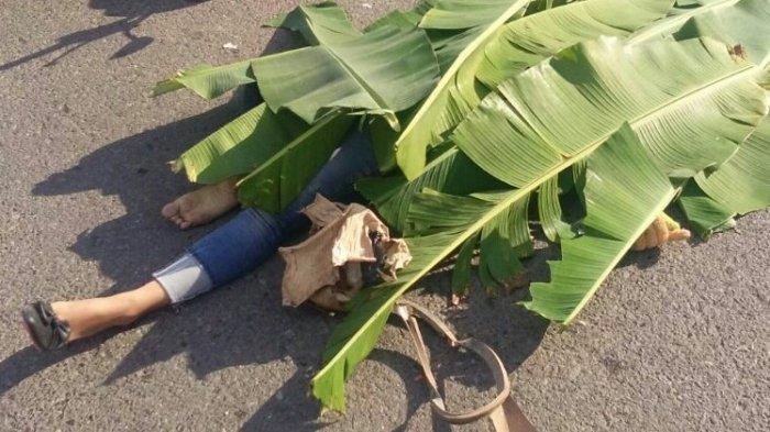 Kecelakaan Maut, 2 Orang Siswi SMP Tewas Terlindas, Korban Terjatuh dan Masuk ke Kolong Truk Fuso
