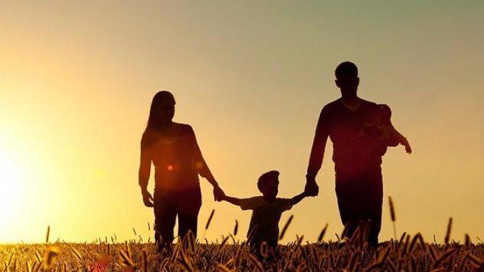 Ilustrasi keluarga