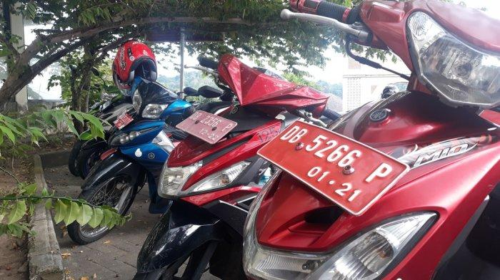 106 Kendaraan Plat Merah di Bolsel Menunggak Pajak