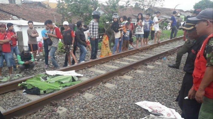 Kecelakaan Maut Tadi Pukul 04.30 WIB, Seorang Pria Tewas Mengenaskan Tergilas Kereta Api Barang