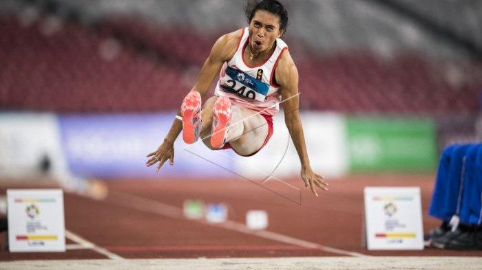 ilustrasi lompat jauh