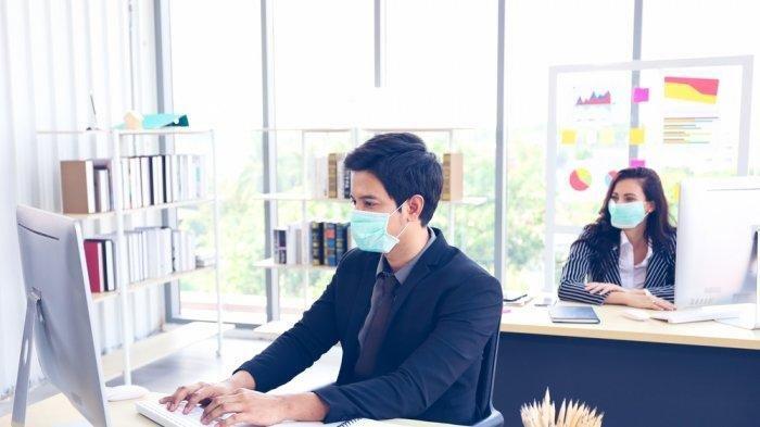 Tips Tetap Nyaman Pakai Masker Berjam-jam di Kantor Saat Diberlakukan New Normal