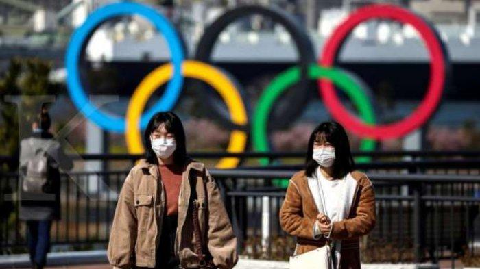 Ilustrasi Olimpiade 2020 di Tokyo.