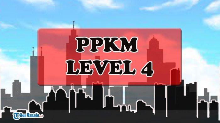 Daerah-daerah di Indonesia yang Terapkan PPKM Level 4
