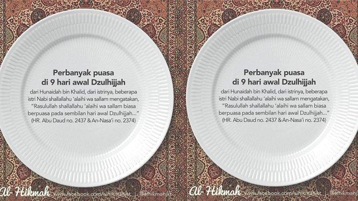 Tata Cara 3 Puasa Sunah Jelang Idul Adha 2019: Puasa Dzulhijjah, Puasa Tarwiyah & Puasa Arafah