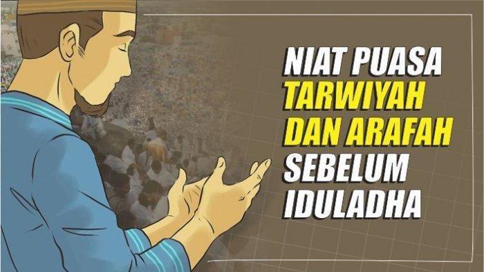 Ilustrasi puasa sunnah Tarwiyah dan puasa sunnah Arafah.
