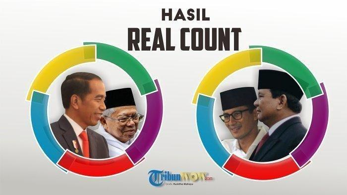 UPDATE Rekapitulasi Suara Pilpres, Jokowi Unggul di 16 Provinsi, Prabowo Pangkas Gap Suara