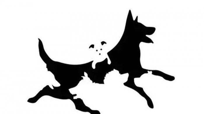 Ilustrasi shio anjing.