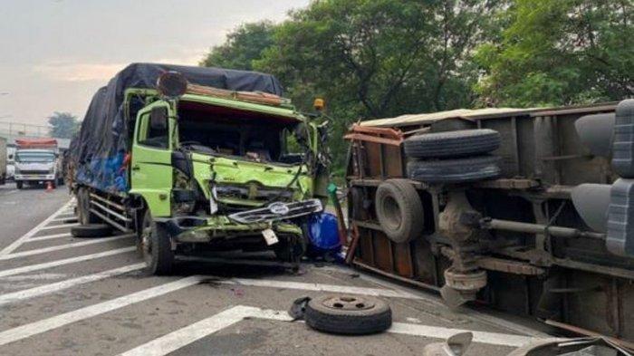 Kecelakaan Maut Truk Tabrak Tronton, Sopir Tewas di Tempat