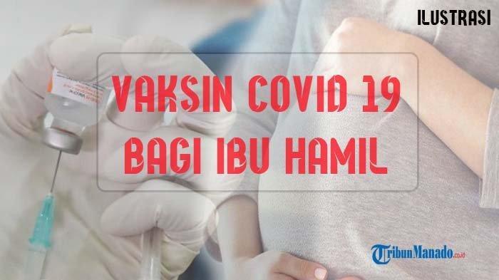 Vaksinasi Covid-19 bagi Ibu Hamil di Sulut Mulai Hari Ini, ini Syarat-syaratnya Secara Medik