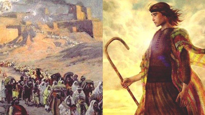 Ilustrasi Yehuda dan Bangsa Israel