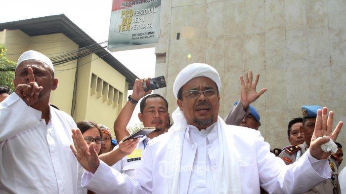 Habib Rizieq Shihab Dikabarkan Bakal Balik Indonesia, Pimpin Revolusi Selamatkan NKRI
