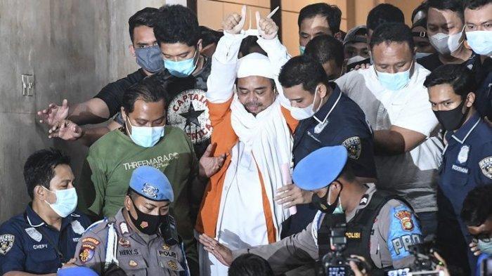 Dua Alasan Habib Rizieq Ditahan Kepolisian, Terancam Hukuman di Atas 5 Tahun Penjara
