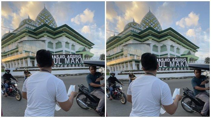 Rayakan Milad Ke-57, Ikatan Mahasiswa Muhammadiyah Kotamobagu Bagikan Masker Gratis