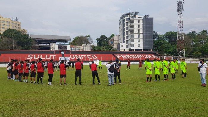 In Memoriam Match Leo Soputan, Sulut United Ditahan Imbang Parasamya FC