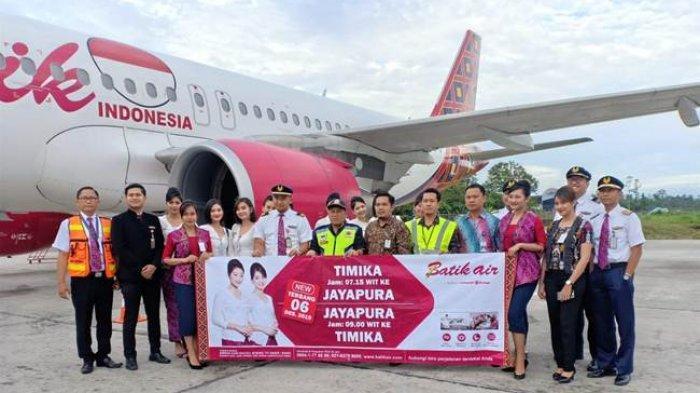 Batik Air Buka Rute Timika-Jayapura, Penerbangan Pergi Pulang Setiap Hari