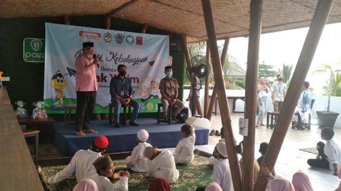 Indomaret dan Muslim Riders Indonesia Gelar Buka Puasa Bersama Anak Yatim di Sindulang Manado