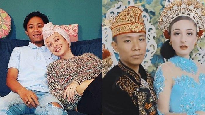 Indra dan Melissa - Kisah Pria Lombok Nikahi Bule Perancis, Jumpa Pertama di Bali, Mas Kawin Berupa Cerek dan Cobek Batu