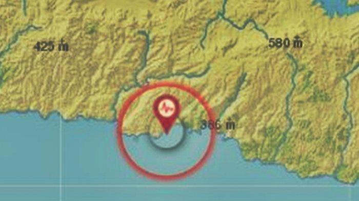 Info Gempa Tadi Malam Guncang Jatim, BMKG Rilis Data Magnitudo dan Lokasi Pusat Gempa