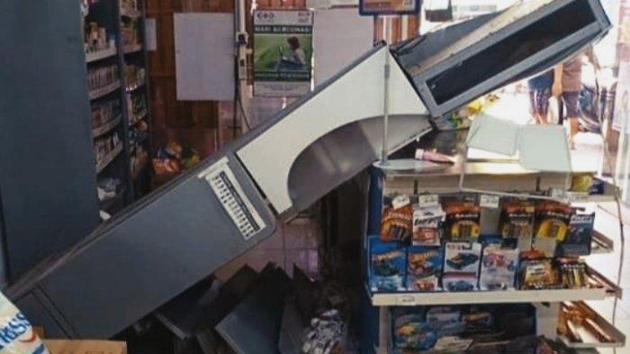 Gempa Bumi Magnitudo 5.7 Jumat (11/06/21), Kerusakan akibat Gempa Lemari Roboh, Ini Lokasinya
