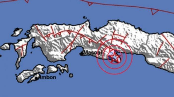Gempa Terkini Jumat 09 07 21 Pagi Info Terkini Data Magnitudo Gempa Tribun Manado