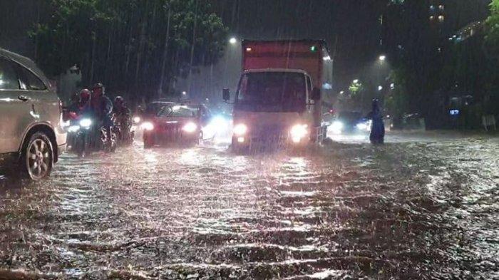 Peringatan Dini BMKG, Jakarta Berpotensi Banjir Bandang 28 Januari-2 Februari 2021, BPBD Imbau Warga