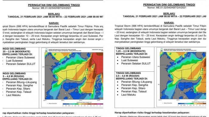 Info BMKG Sulawesi Utara