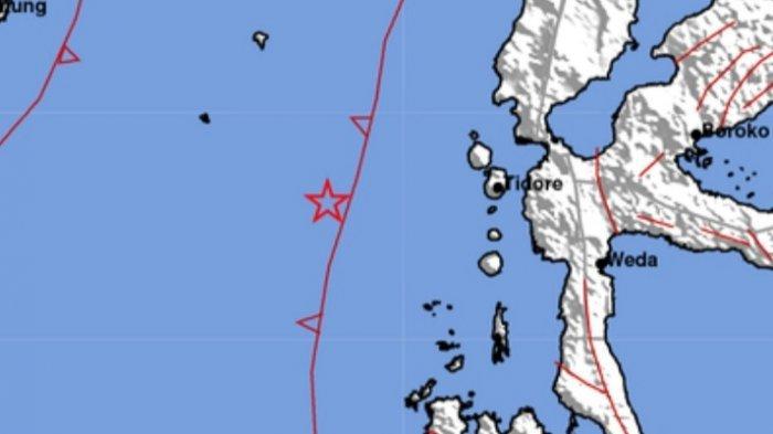 Info gempa bumi 4.2 mengguncang wilayah Maluku Kamis 17 Juni 2021 siang.
