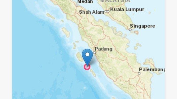 Gempa Bumi Senin Dini Hari (3/5/2021), Info BMKG Dirasakan 9 Wilayah, Ini Magnitudo dan Lokasinya