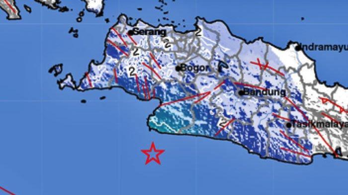 Gempa Bumi Pukul 04.07 WIB, Terjadi di Tegalbelued, Minggu 29 November 2020