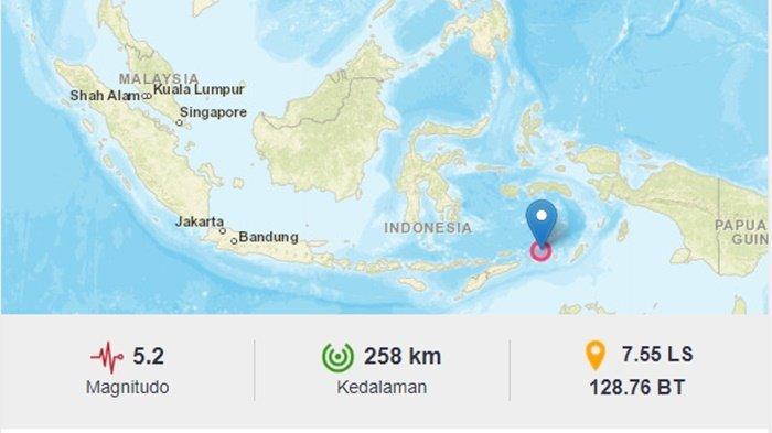Gempa Terkini Siang Ini Kamis 15 Juli 2021, Berikut Info BMKG Lokasi dan Magnitudo