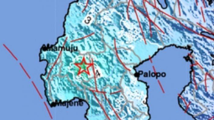 Gempa Magnitudo 5.3 SR Kamis 22 Juli 2021, Warga Terbangun Lari Keluar Rumah, Ini Lokasinya