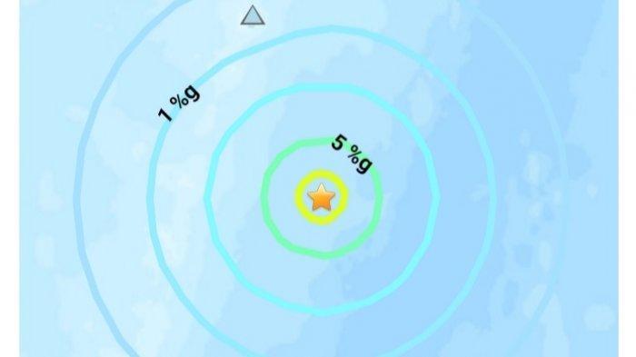 Info gempa bumi magnitudo 5.9 Senin 21 Juni 2021 tadi malam. Berikut lokasi pusat gempa.